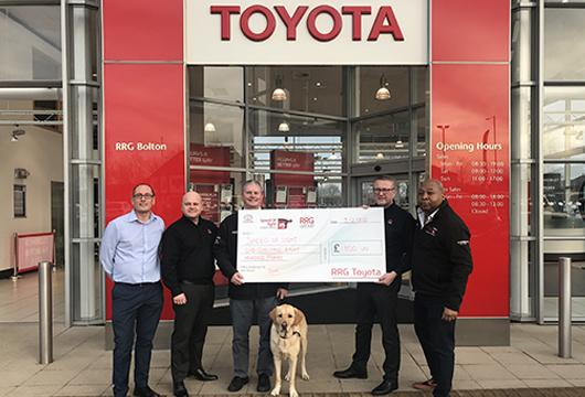RRG Bolton announce sponsorship of Speed of Sight Charity